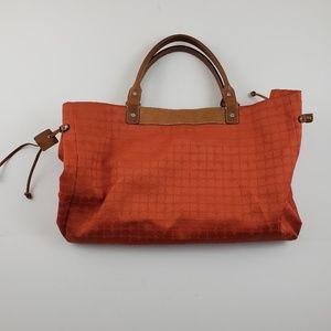 Kate spade womens orange Large shoulder bag brown